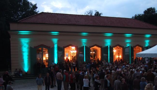 Architekturlicht für Theaterfestival
