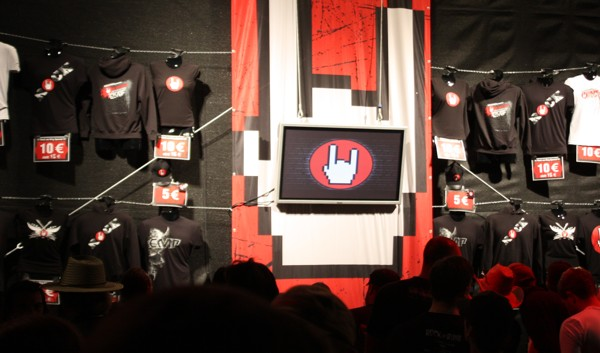 Bühnendach Verkaufsstand