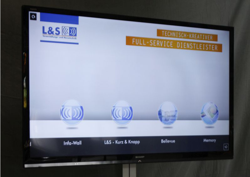 LCD TV Display 80