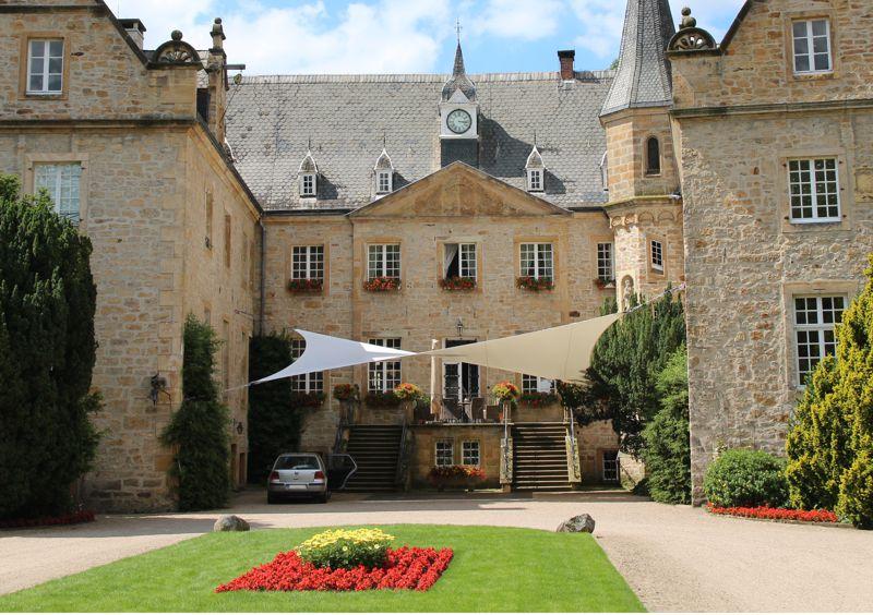 Eventsegel Schlosshof Surenburg