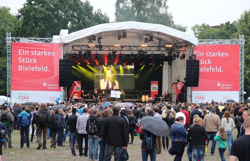 Arco Stage 140 für NRW-Tag 2014