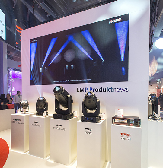 L&S video technology: Modern LED systems for your exhibition stand Videotechnik: Moderne LED-Systeme für Ihren Messestand
