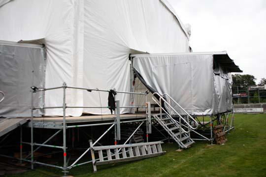 Anbauflächen für Open-Air Bühnen