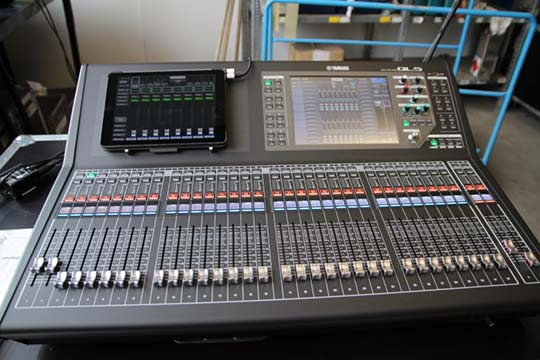 Yamaha QL5 mixing console