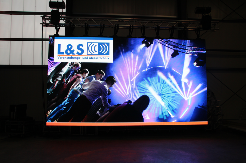 LED-Videowand V:LED