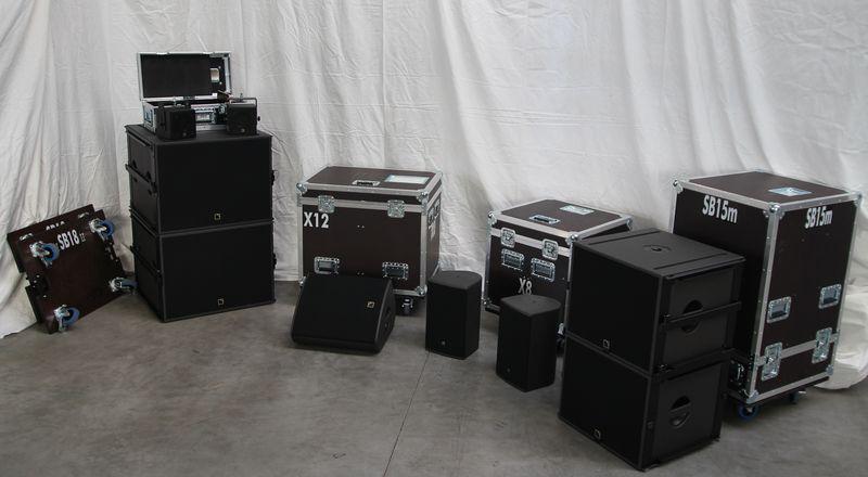 Neue Technik: L`Acoustics Lautsprecher