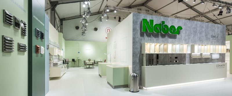 Messestand Naber Ordermesse Area30