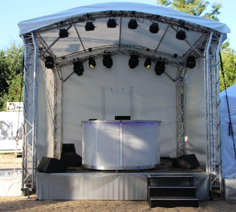 Baby ArcoStage 16 auf Riesenbeck International