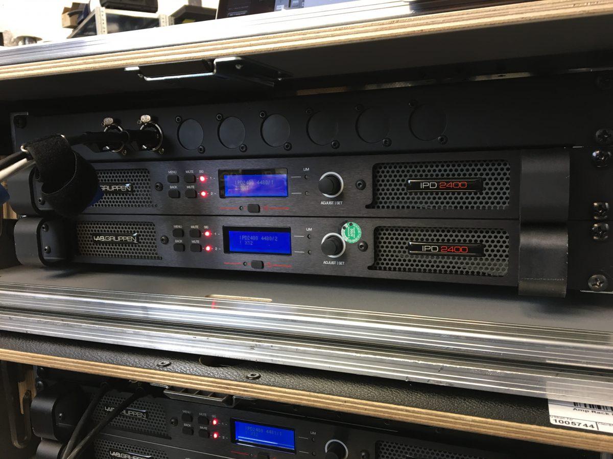 Neues TF-Rack und neue IPD-Endstufen