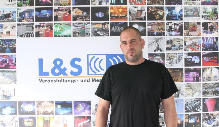 Mitarbeiter Tim Kesper