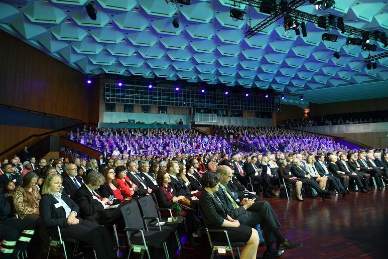 Verleihung Deutscher Umweltpreis 2017 Braunschweig