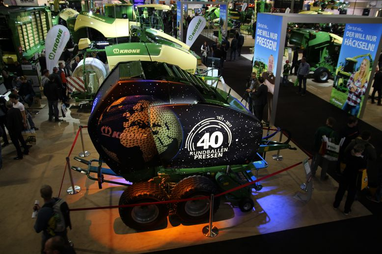 Agritechnica 2017 Messestand Krone