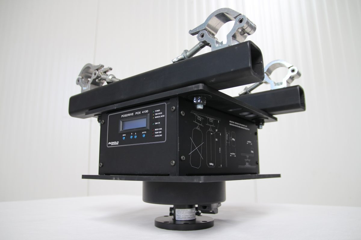 Drehmotor POX 4100SR