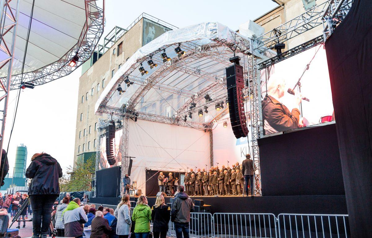 Open-Air Veranstaltung in Ibbenbüren.