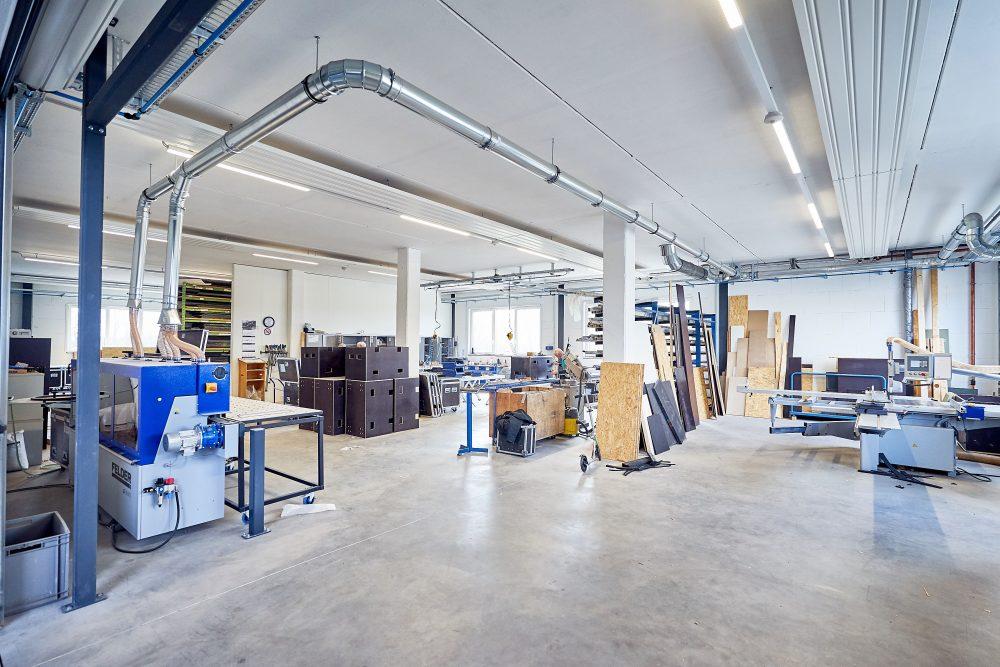 Holz- und Metallwerkstatt