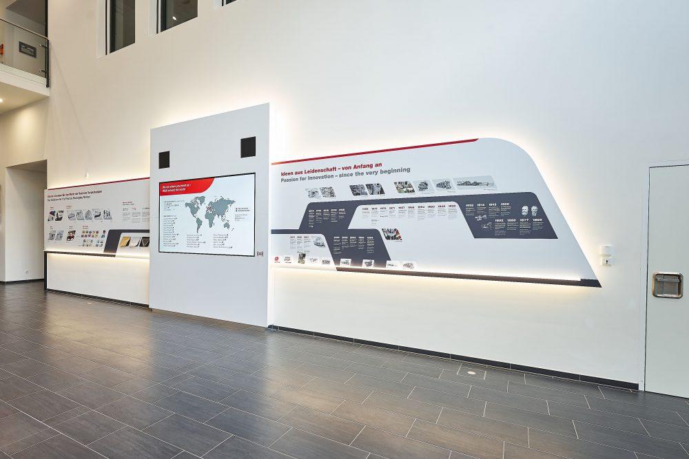 Installation Unternehmensfoyer