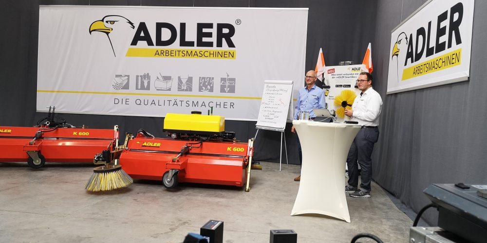 2020 Produktpräsentation online Adler