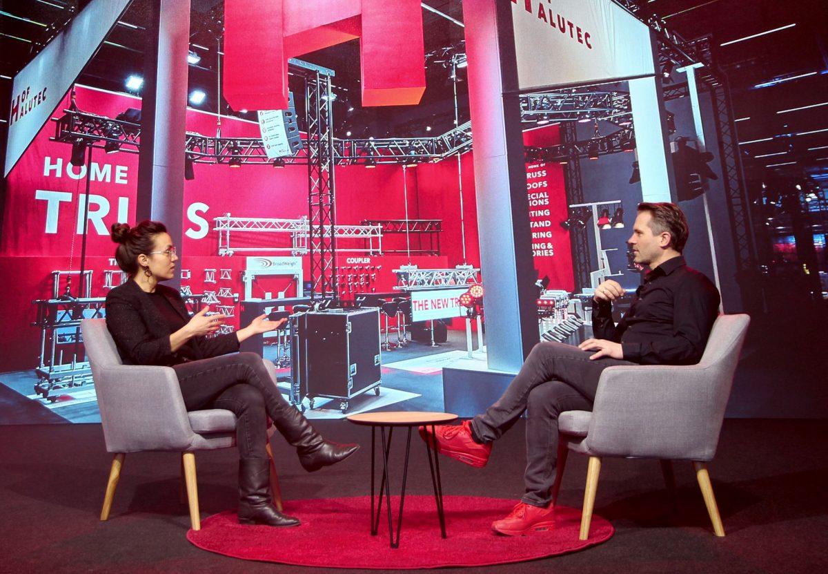 Traversenspezialist H.O.F. nutzt Lerchengrund Studio