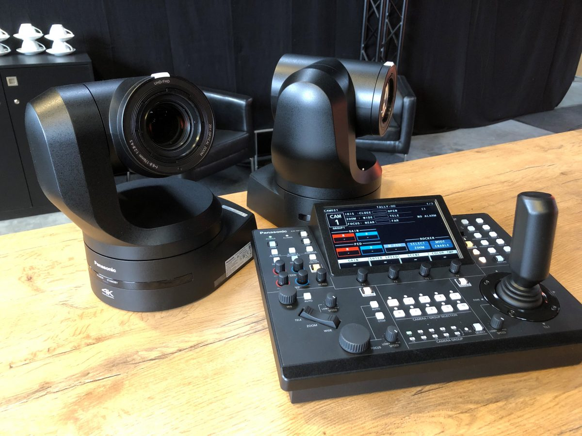 Neue 4K Kameras im Mietpark