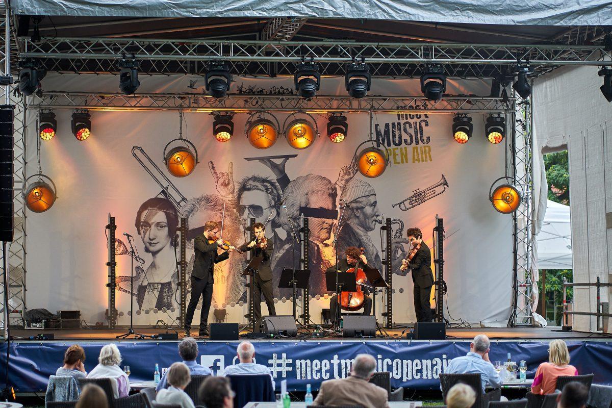 meetMUSIC Open Air Premiere für Draiflessen